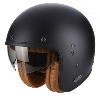 Casque Jet Scorpion Belfast Luxe Matt Black