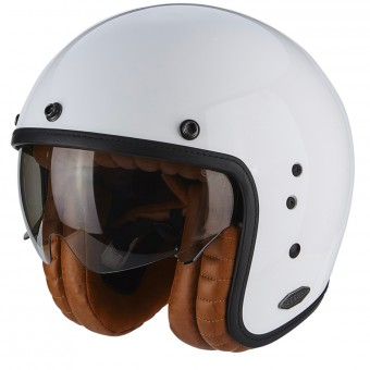 Casque Jet Scorpion Belfast Luxe White