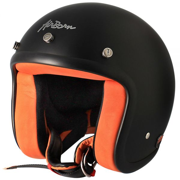 casque airborn steve ab 8 matt black orange au meilleur prix. Black Bedroom Furniture Sets. Home Design Ideas