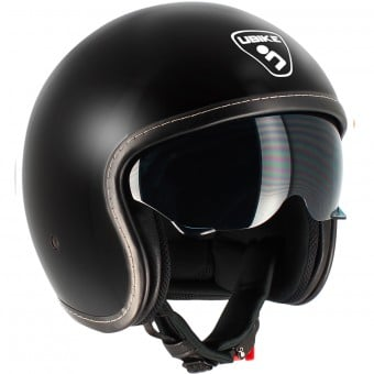 Casque Jet UBIKE Challenge Chocolate