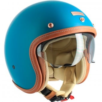 Casque Jet UBIKE Challenge Oil Matt