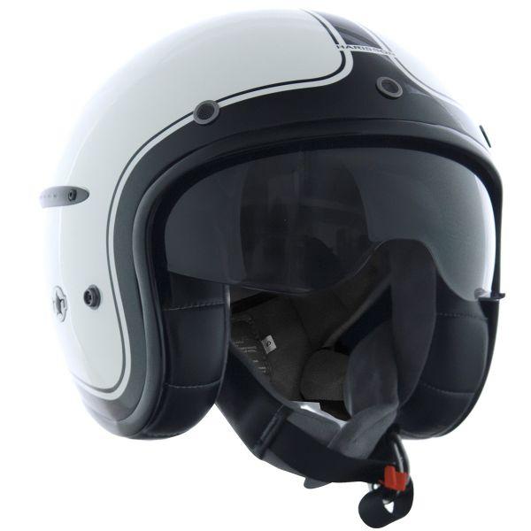 Casque Jet HARISSON Corsair Blanc Noir