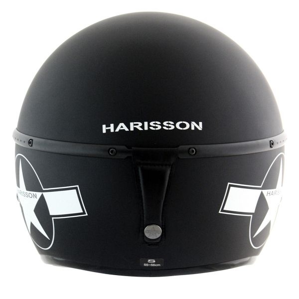 HARISSON Corsair Star Deco Noir Mat Blanc