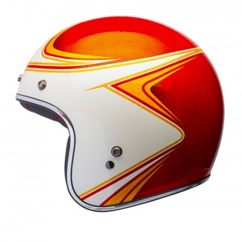 Casque Jet Bell Custom 500 Copperhead Orange Dlx