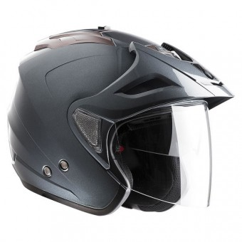 Casque Jet Kenny Evasion Gun Metal