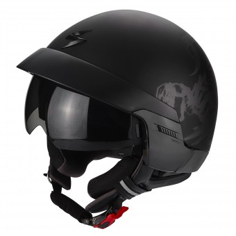 Casque Jet Scorpion Exo 100 Scorpion Matt Black