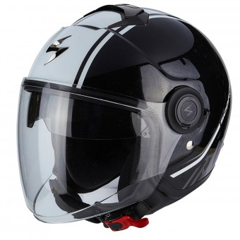 Casque Jet Scorpion Exo City Avenue Black White