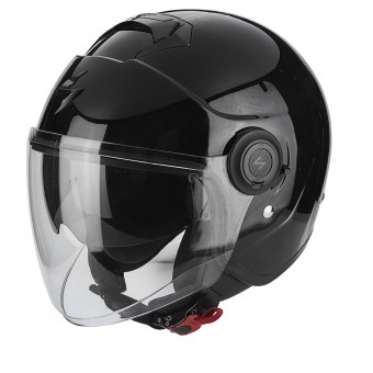 Casque Jet Scorpion Exo City Edge Black Silver