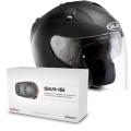 Pack FG-Jet Noir Mat + Kit Bluetooth Sena SMH5