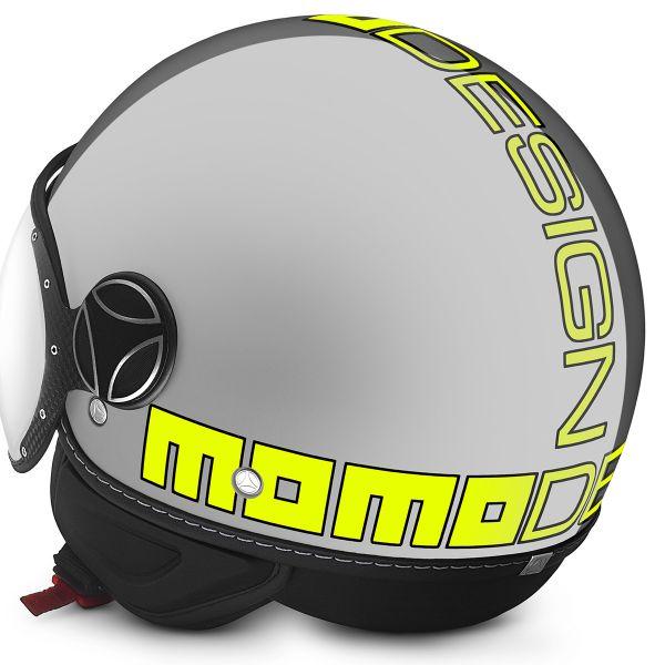 Momo Design FGTR Evo Grey Yellow Fluo