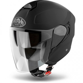 Casque Jet Airoh Hunter Black Matt