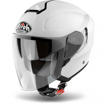 Casque Jet Airoh Hunter White