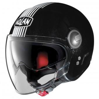 Nolan N21 VISOR SPHEROID FLAT BLACK XXS