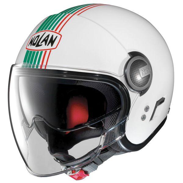 Casque Jet Nolan N21 Visor Joie De Vivre Metal White ITA 43