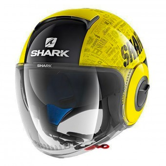 Casque Jet Shark Nano Tribute RM YKA