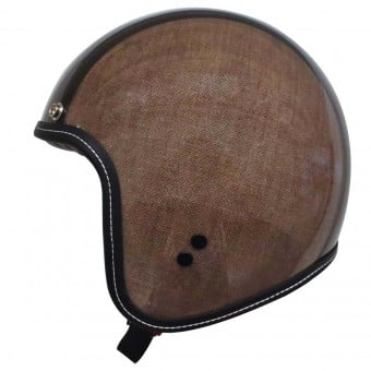 Casque Jet Diesel Old Jack Herringbone Brown