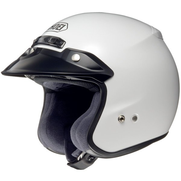 Casque Jet Shoei RJ Platinum-R Blanc