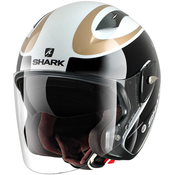 Casque Jet Shark RSJ-ST Fast Line WKQ
