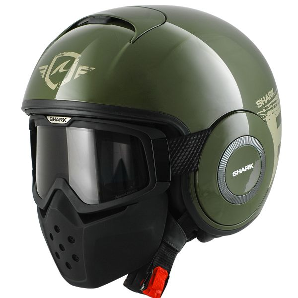 Casque Jet Shark Raw Trinity GSG