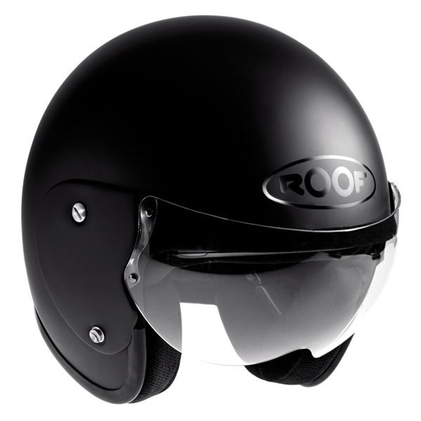 Casque Jet Roof Roadster Matt Black