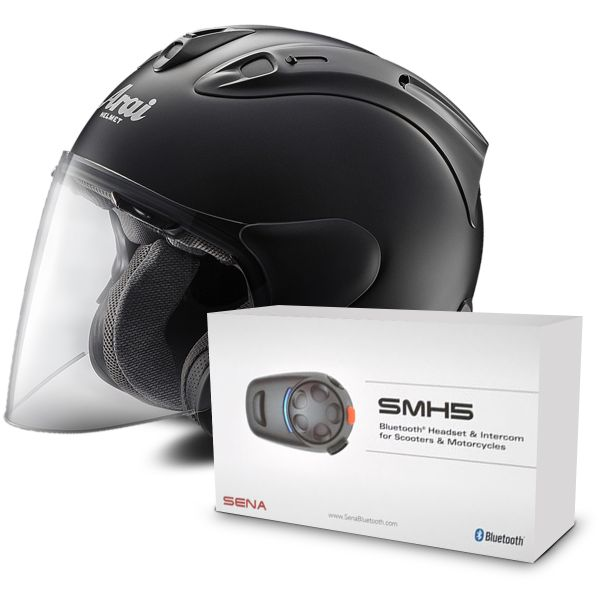 casque arai sz ram x black frost kit bluetooth sena smh5 solo en stock. Black Bedroom Furniture Sets. Home Design Ideas