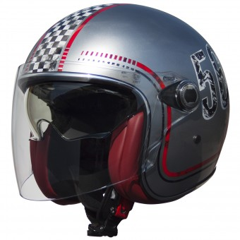 Casque Jet Premier Vangarde FL Chromed