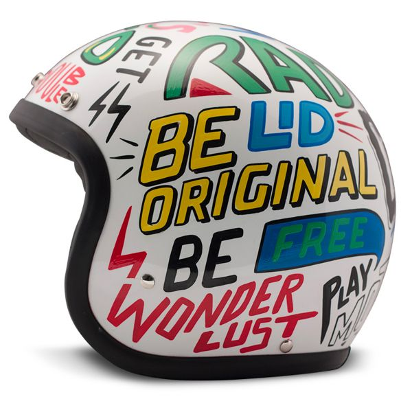 Casque Jet Dmd Vintage Words