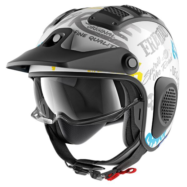 Casque Jet Shark X-Drak Freestyle Cup WBY