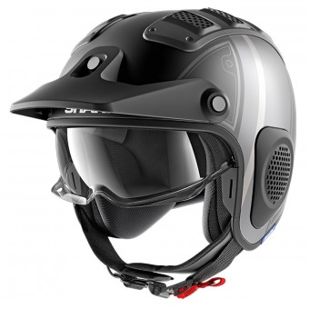 Casque Jet Shark X-Drak Terrence Mat KAS