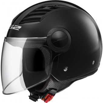 Casque Jet LS2 Airflow Black Long OF562