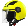 Casque Jet LS2 Airflow L Matt H-V Yellow Long OF562