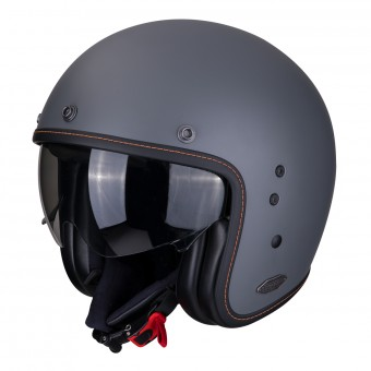 Casque Jet Scorpion Belfast Gris Ciment