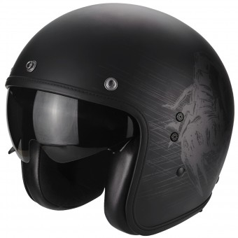 Casque Jet Scorpion Belfast Sting Matt Black