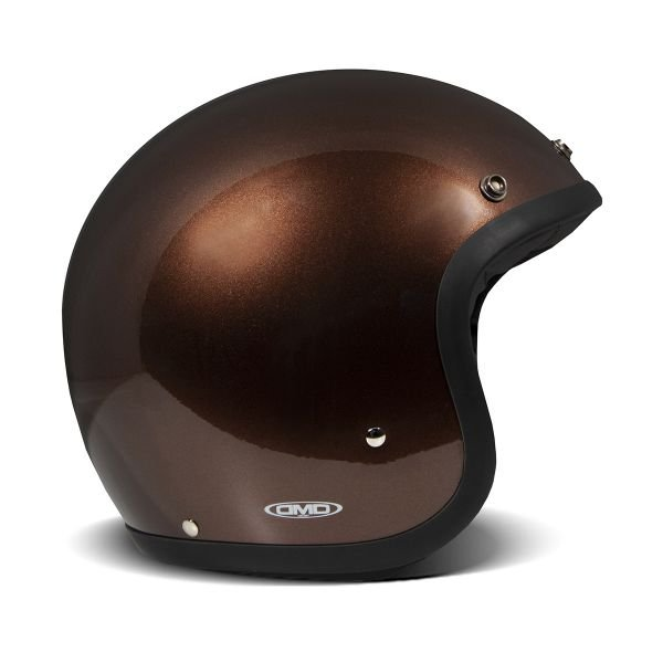 Casque Jet Dmd Vintage Brown