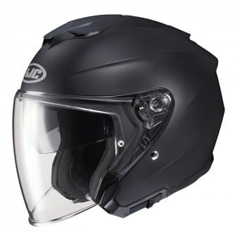 Casque Jet HJC I30 Semi Flat Black