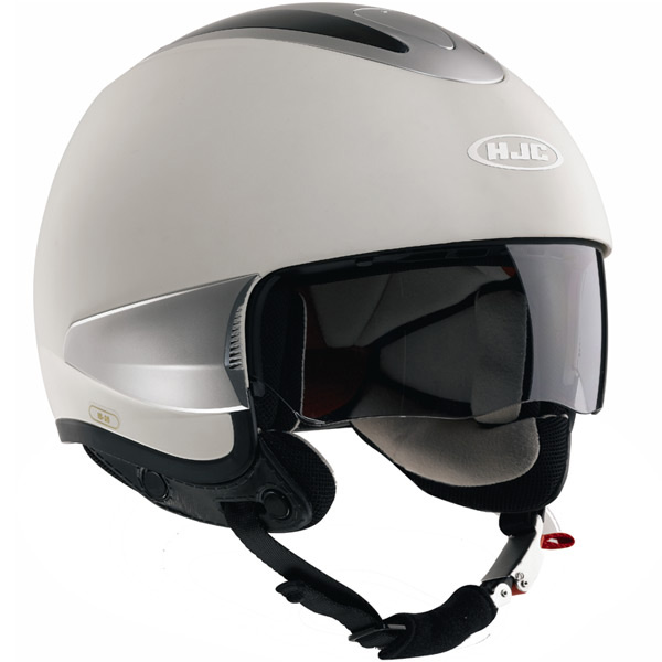 Casque Jet HJC IS-35 Blanc Mat