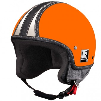 Casque Jet Laura Smith Custom R66 Orange Brillant