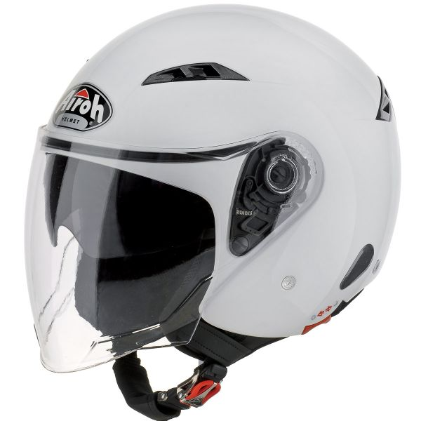 Casque Jet Airoh City One Blanc