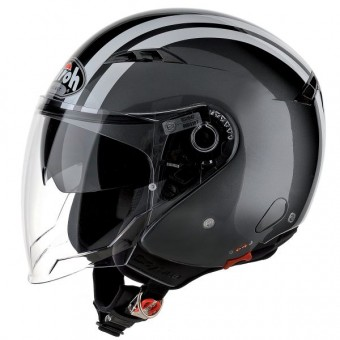 Casque Jet Airoh City One Flash Anthracite