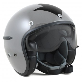 Casque Jet HARISSON Corsair Harrow Gris Noir