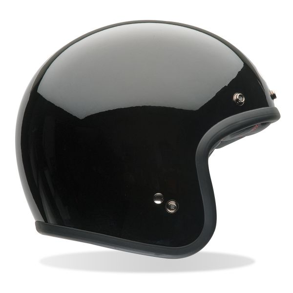 Casque Jet Bell Custom 500 Black Dlx