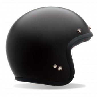 Casque Jet Bell Custom 500 Matt Black DLX