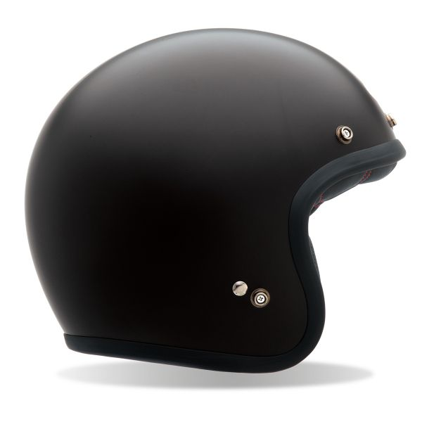 Casque Jet Bell Custom 500 Matt Black
