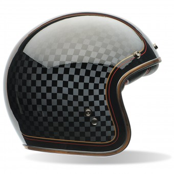 Casque Jet Bell Custom 500 Roland Sands Check It Dlx