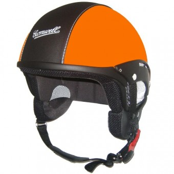 Casque Jet Cromwell Custom Orange Mat