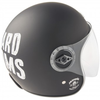 Casque Jet Edguard Dirt Ed Visor Customs Black