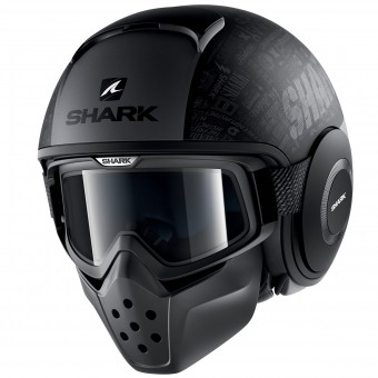 Casque Jet Shark Drak Tribute RM Mat KAA
