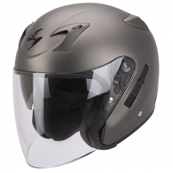 Casque Jet Scorpion EXO 220 Anthracite Mat