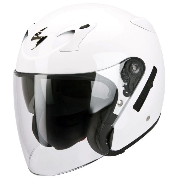 Casque Jet Scorpion EXO 220 Blanc