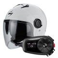 Pack Exo City White + Kit Bluetooth Sena 5S Solo